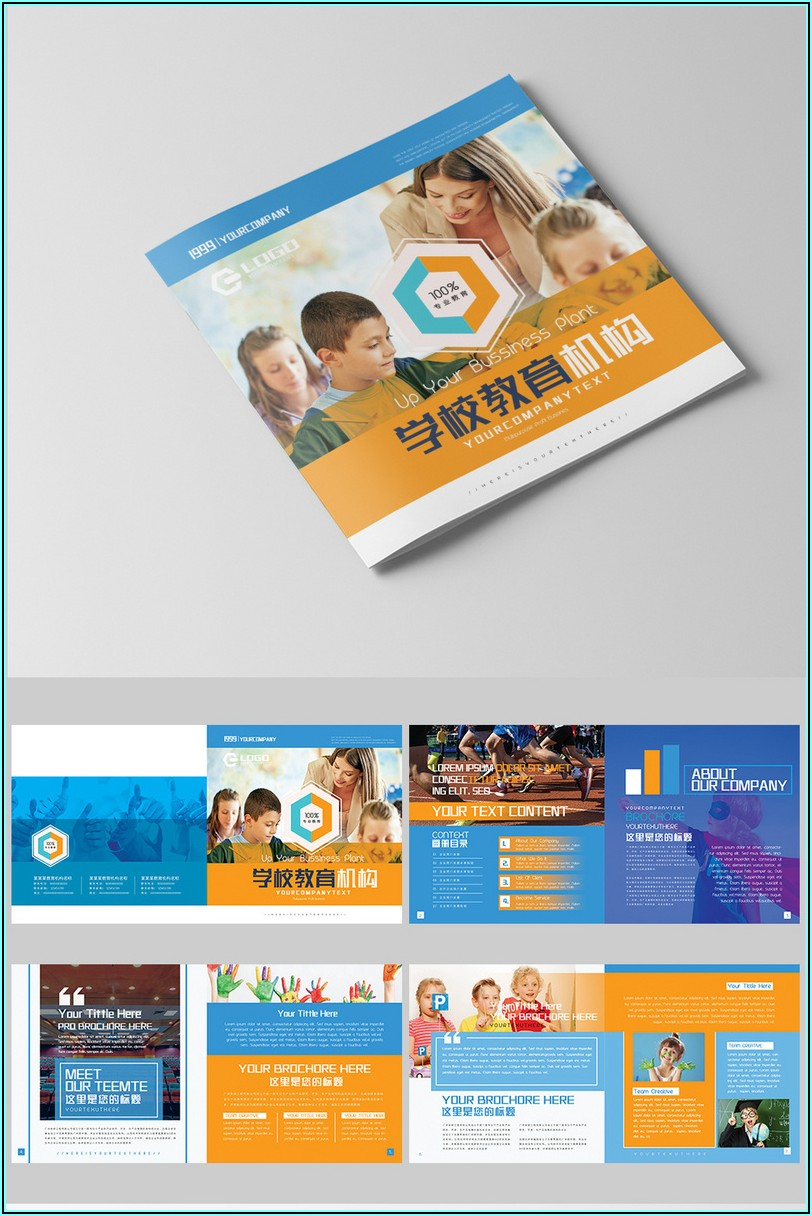 School Brochure Templates Free Download
