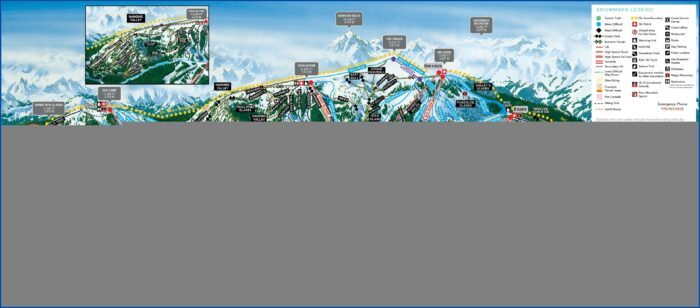 Snowmass Village Lodging Map