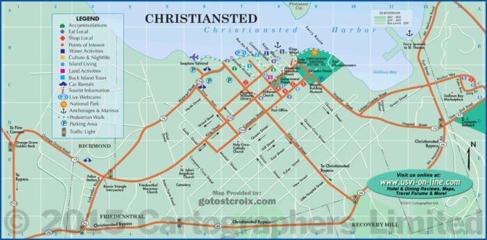 St Croix Usvi Road Map