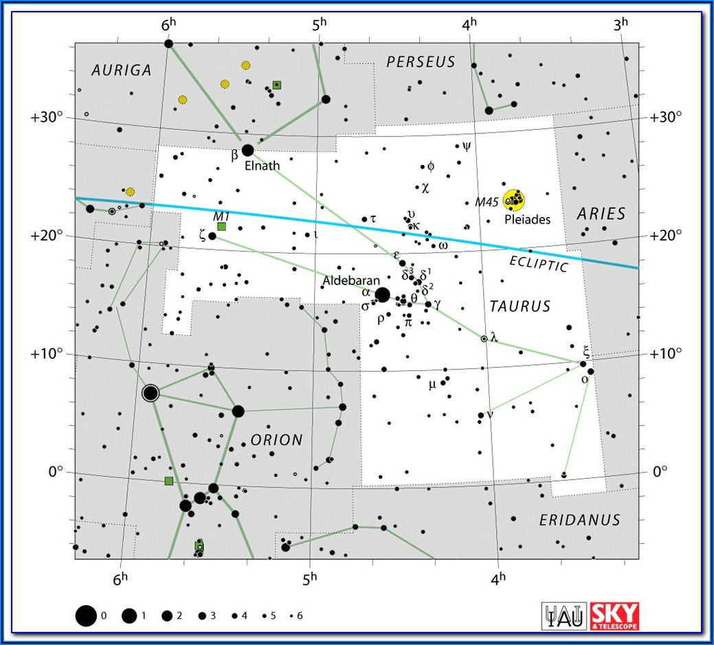 Star Constellations Map Uk