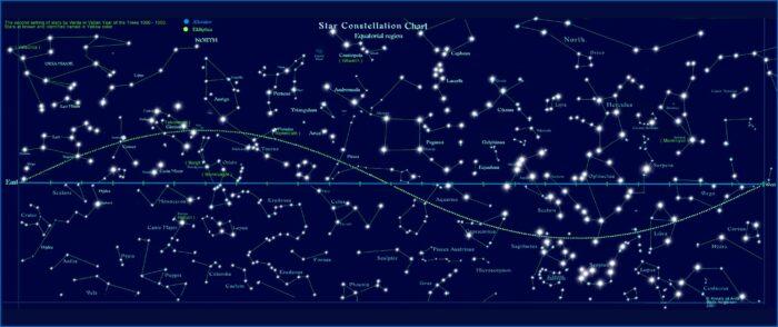 Star Map Constellations