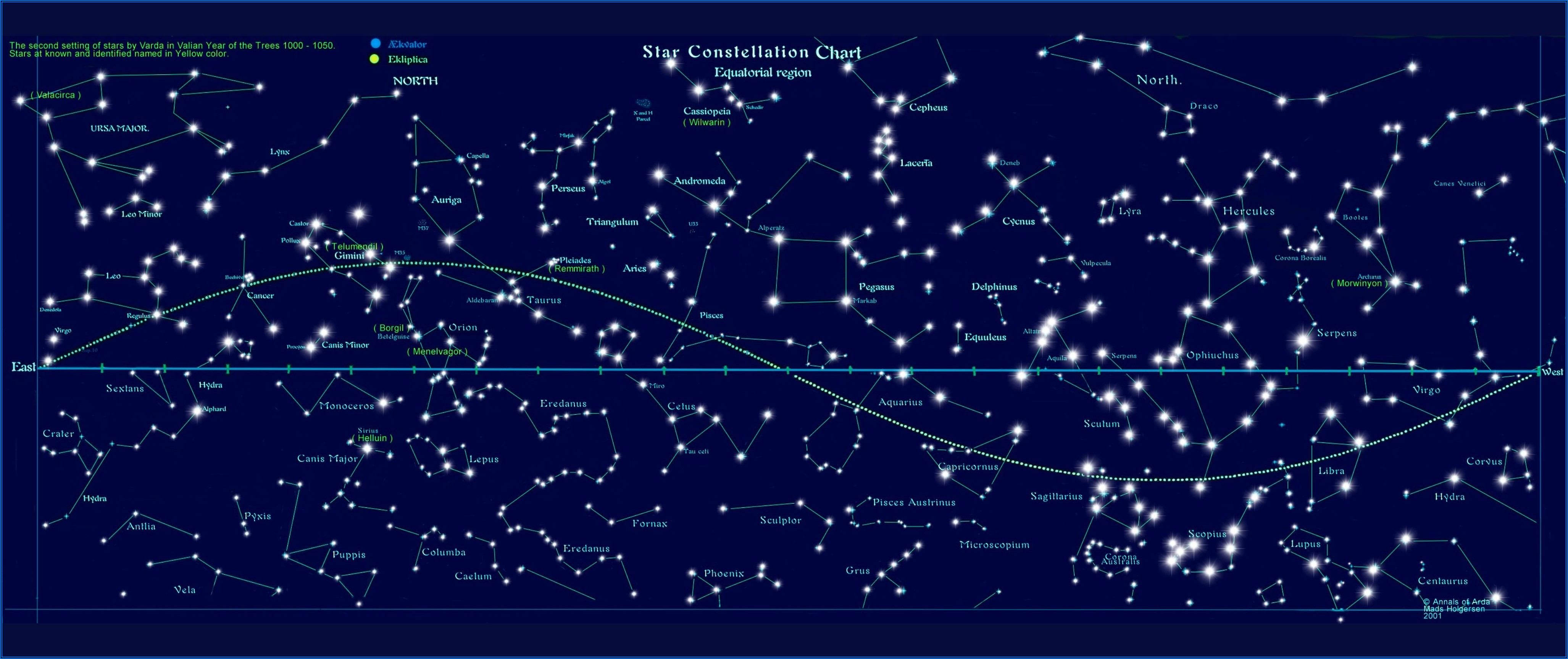 Star Map Constellations