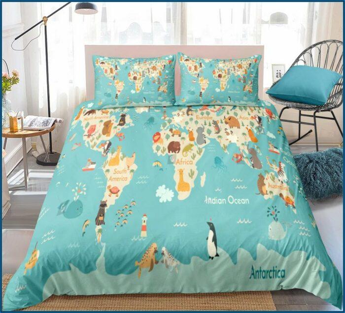 Target Road Map Comforter Set