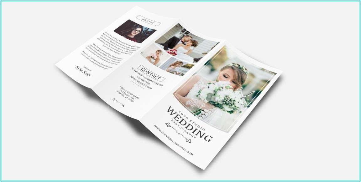 Three Fold Brochure Mockup Free