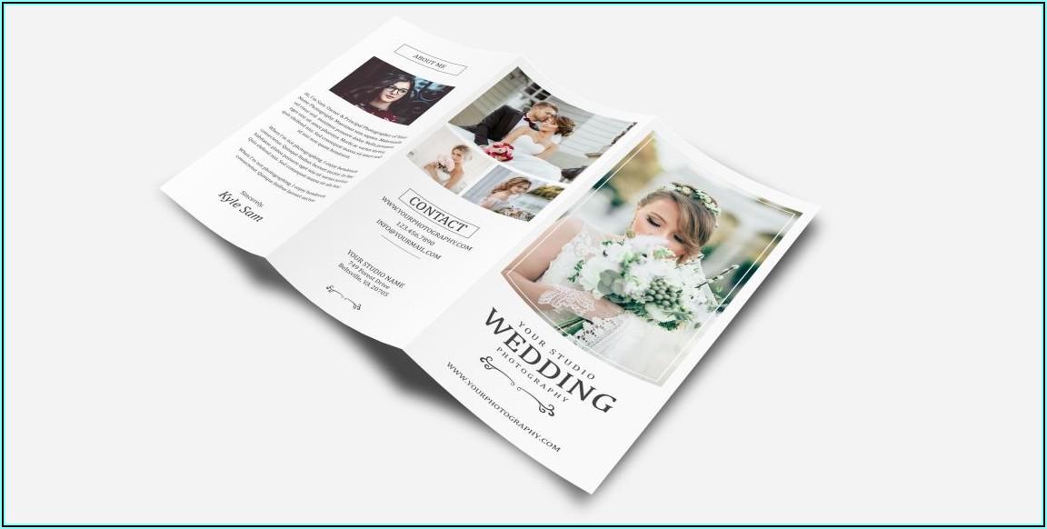 Three Fold Brochure Mockup Free