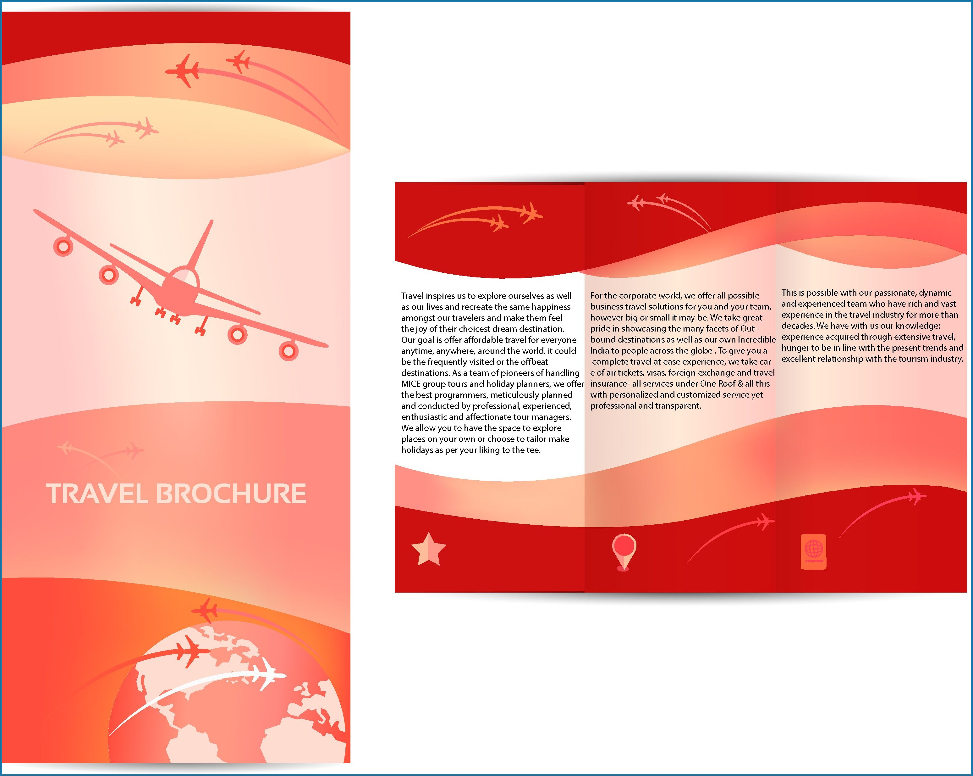 Travel Brochure Design Sample