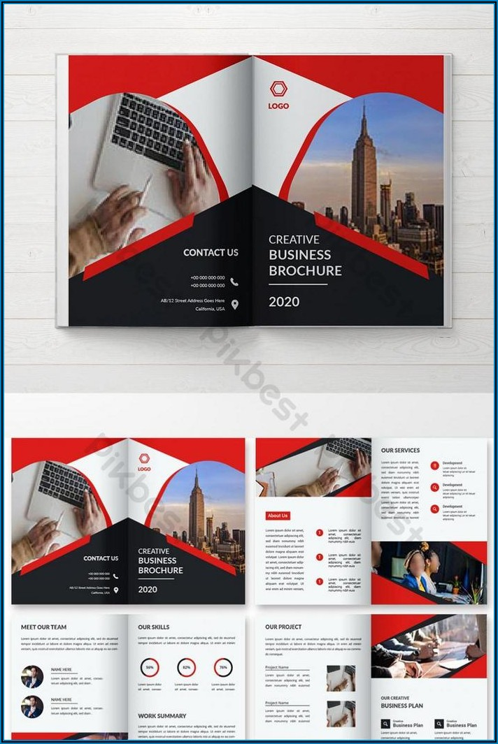 Travel Brochure Design Template Free Download