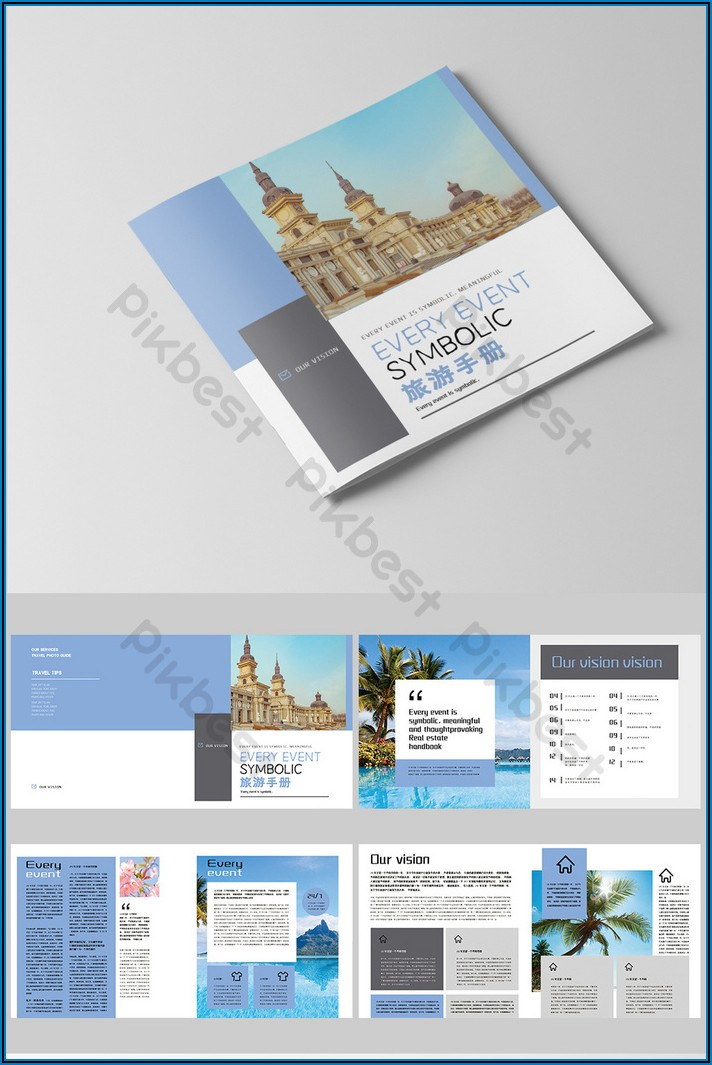 Travel Brochure Template Free Download For Students