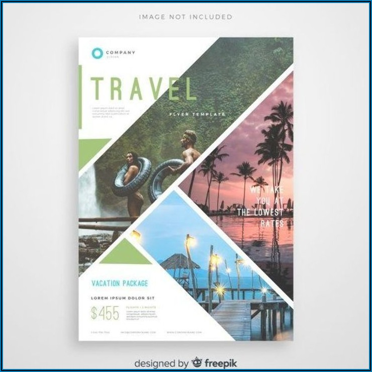 Travel Brochure Template Free Vector