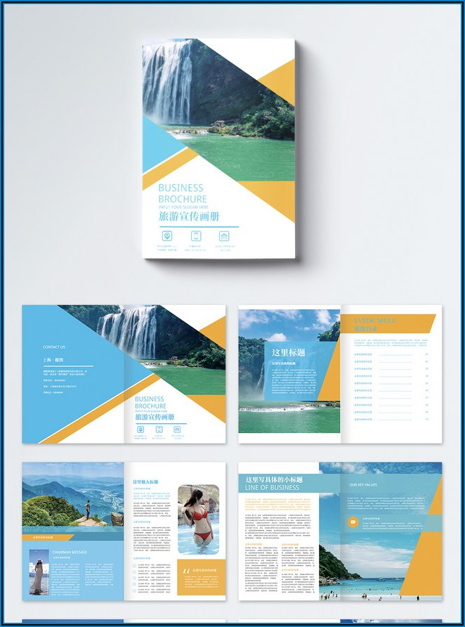 Travel Brochure Template Free