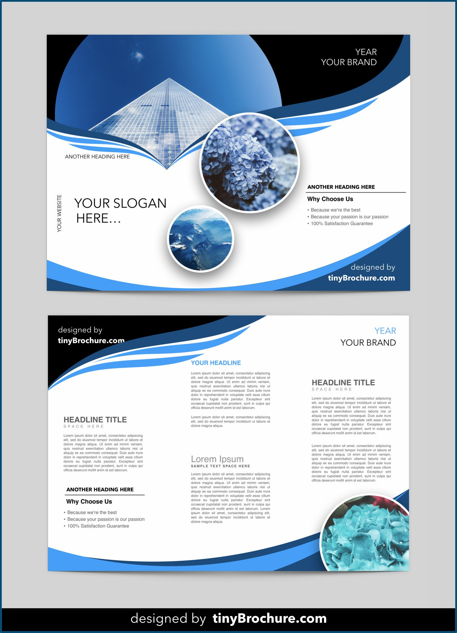 Travel Brochure Template Microsoft Word 2007