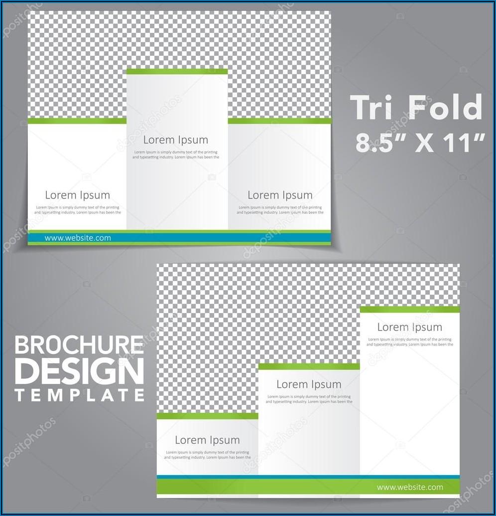 Tri Fold Brochure Design In Illustrator