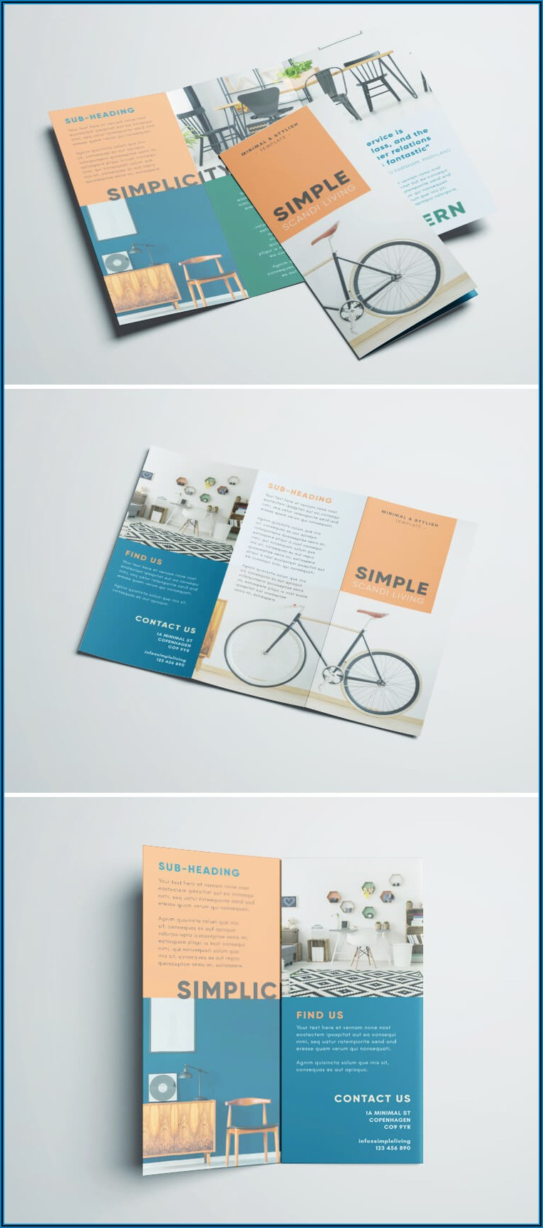 Tri Fold Brochure Indesign Template Free