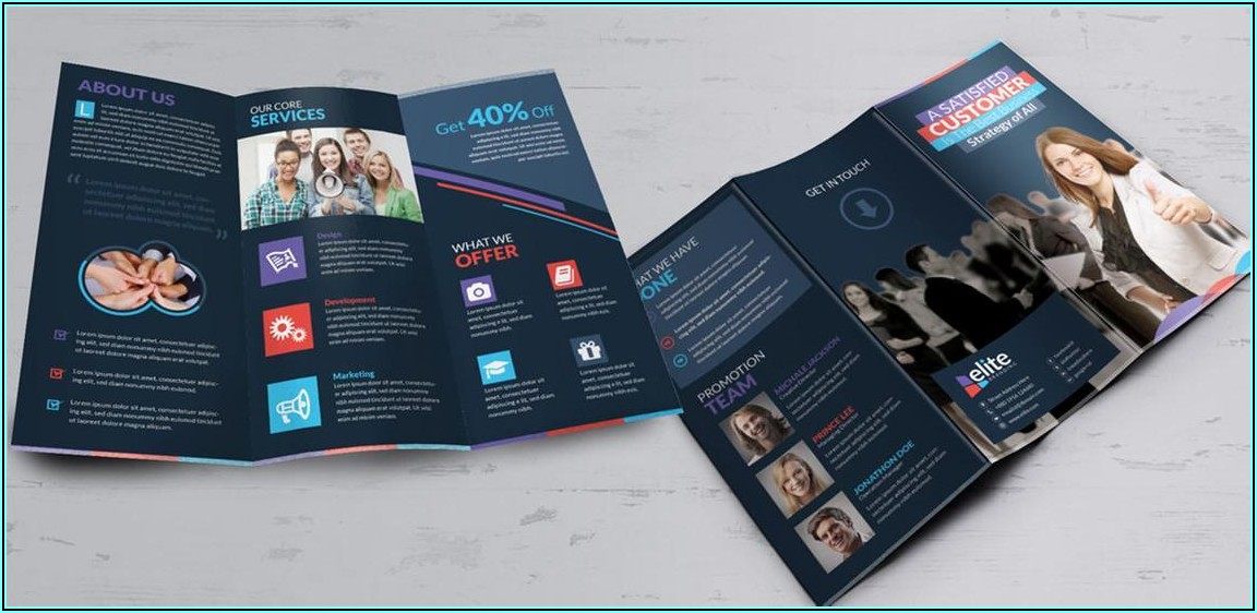 Tri Fold Brochure Indesign