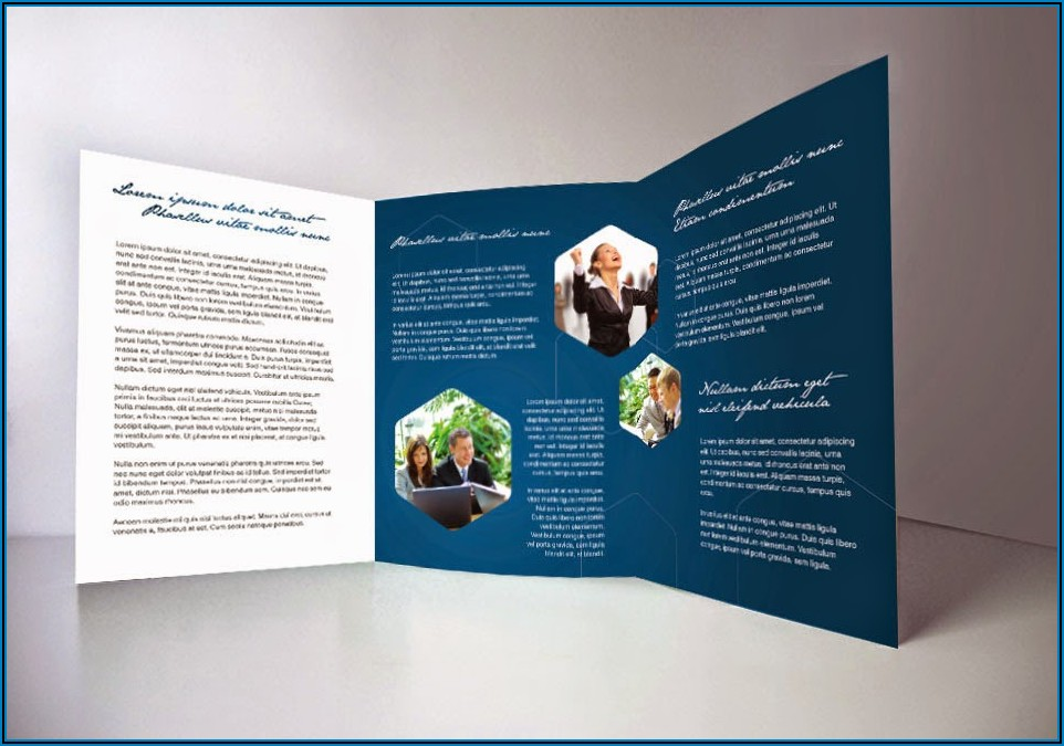 Tri Fold Brochure Specs Indesign