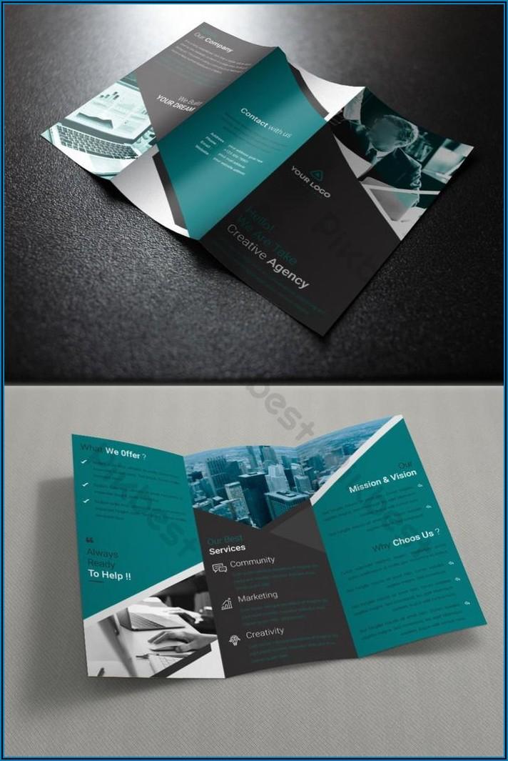 Tri Fold Brochure Template Ai Free