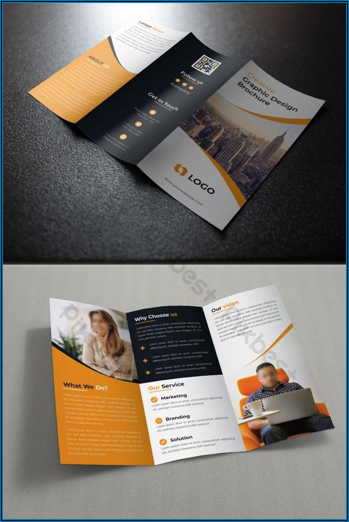Tri Fold Brochure Template Free Download Ai