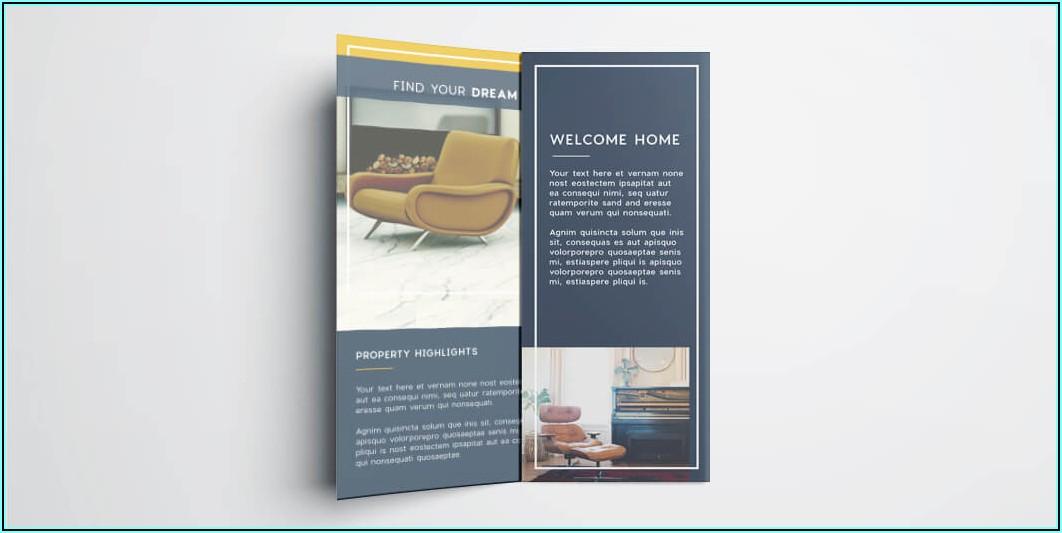 Tri Fold Leaflet Indesign Template