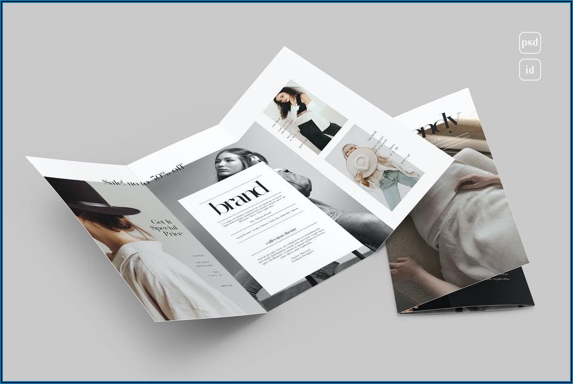 Tri Fold Leaflet Template Indesign