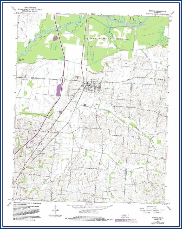 Trimble Outdoors Topo Maps
