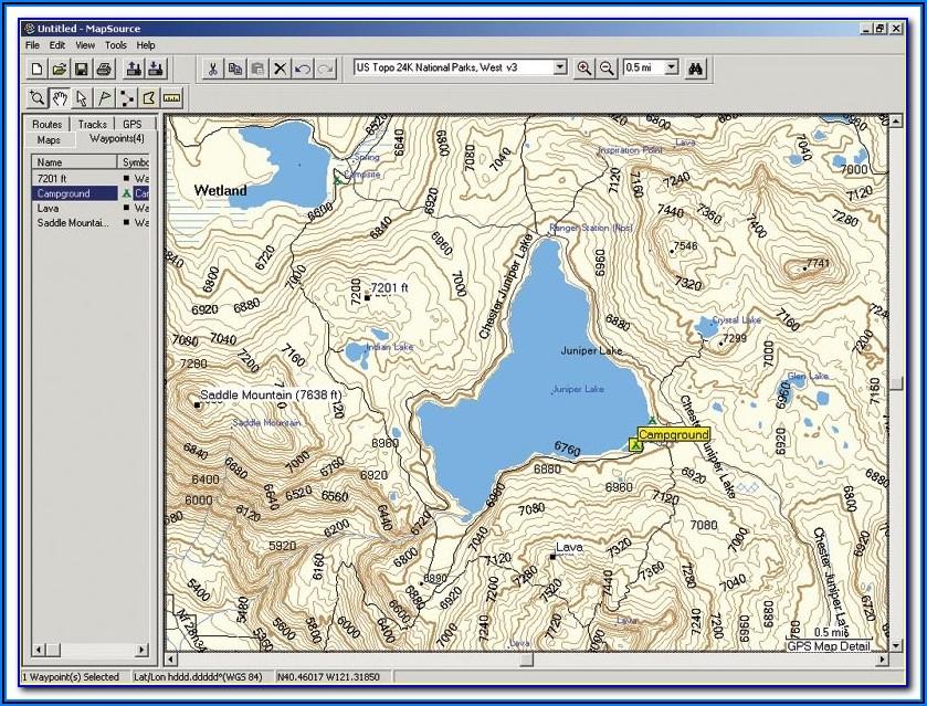 Trimble Topo Maps