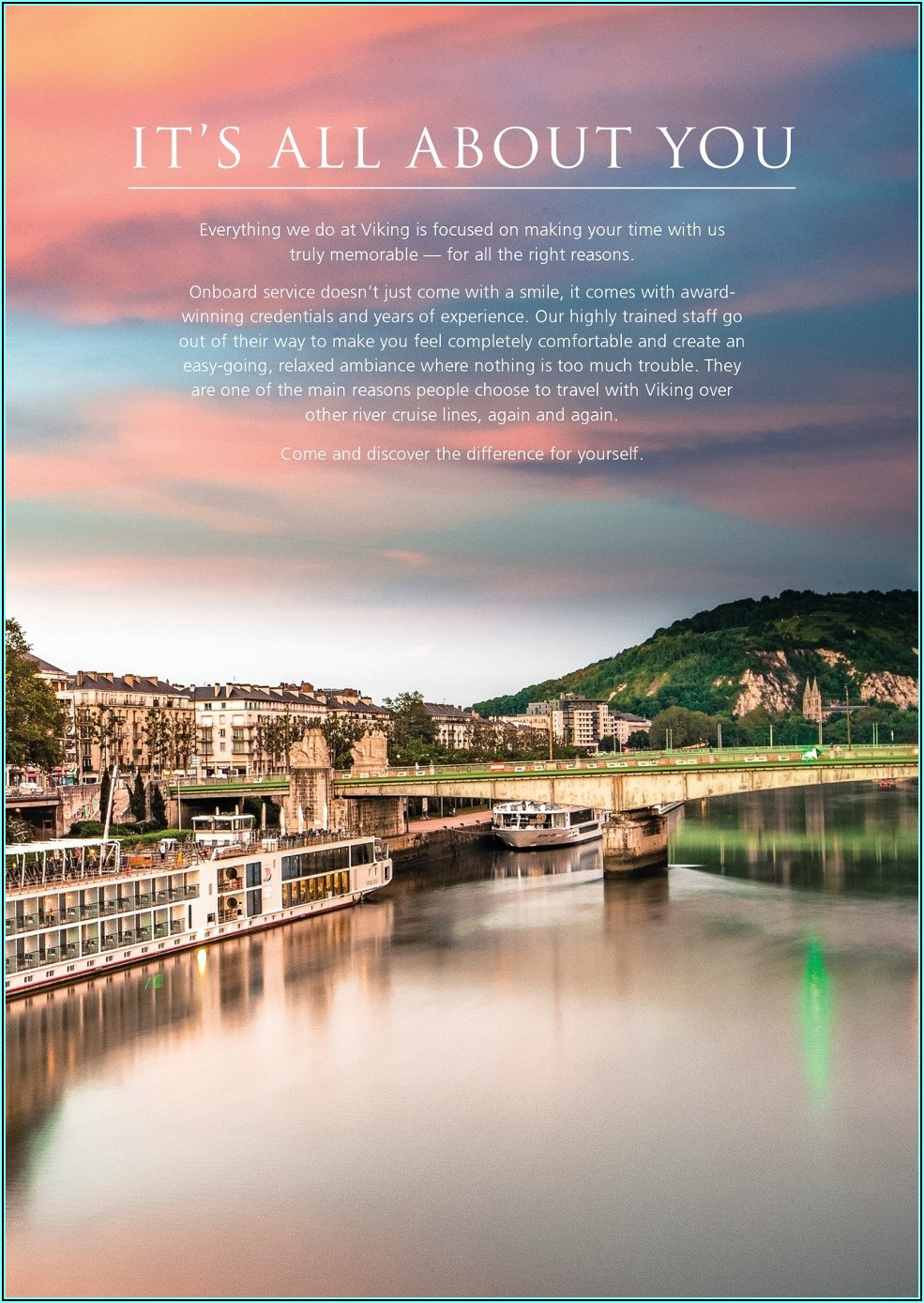 Viking River Cruise Brochure