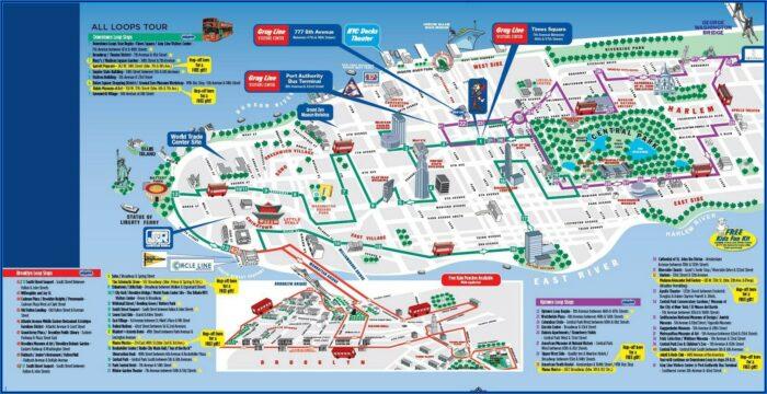 Walking Map Of New York City Printable