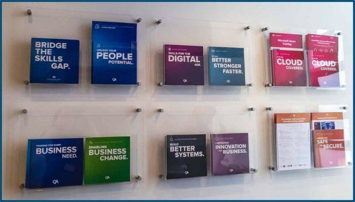 Wall Brochure Holders Displays