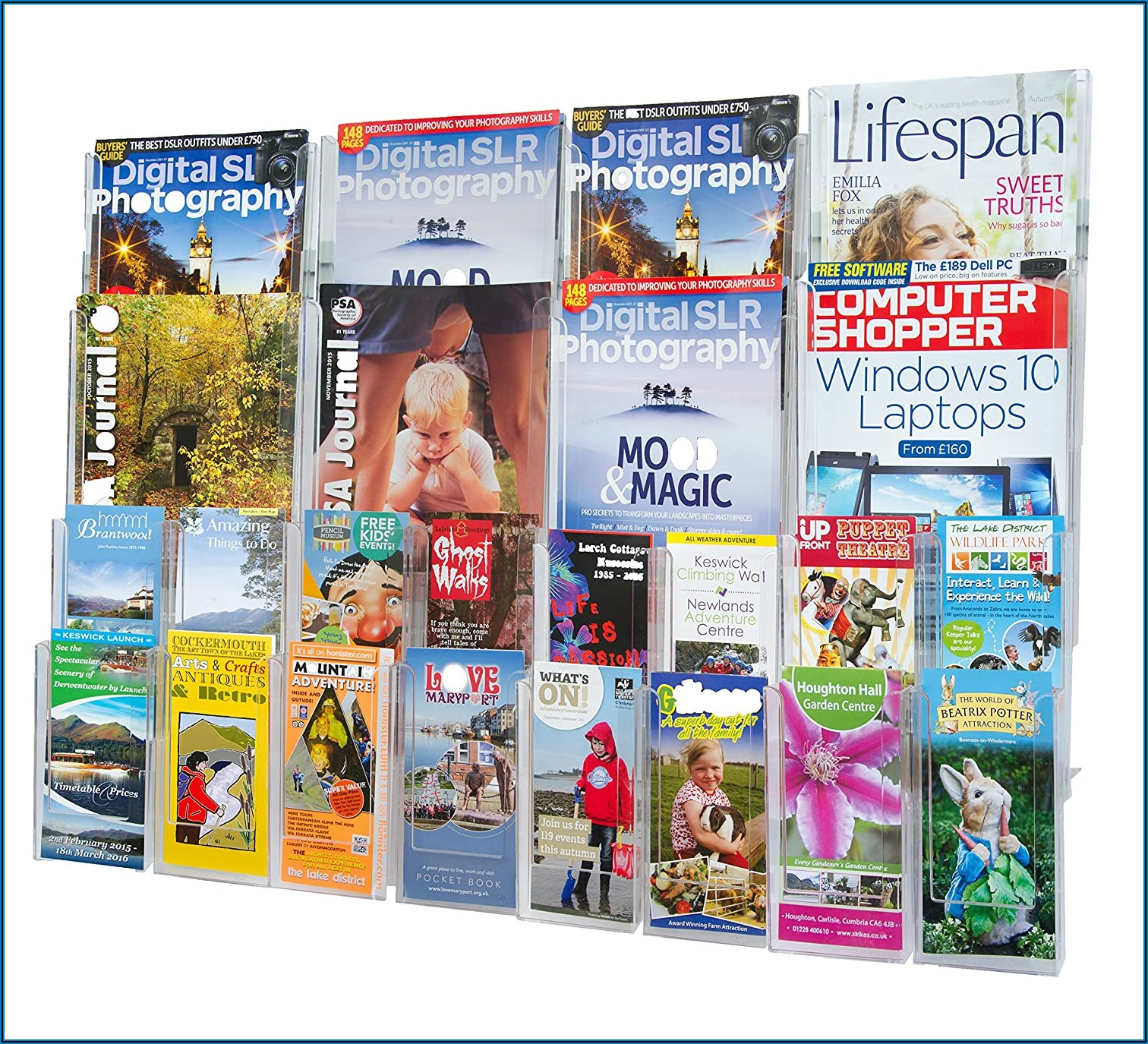 Wall Mounted Leaflet Holders Amazon