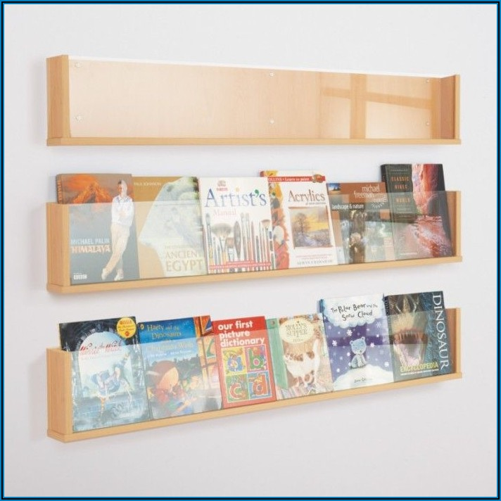 Wall Mounted Wooden Brochure Holders