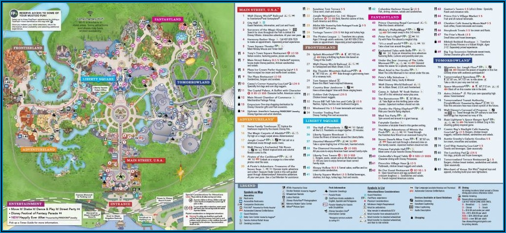 Walt Disney World Brochure Pdf