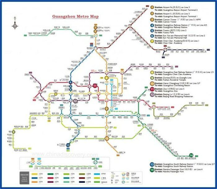 Washington Dc Metro Map 2019