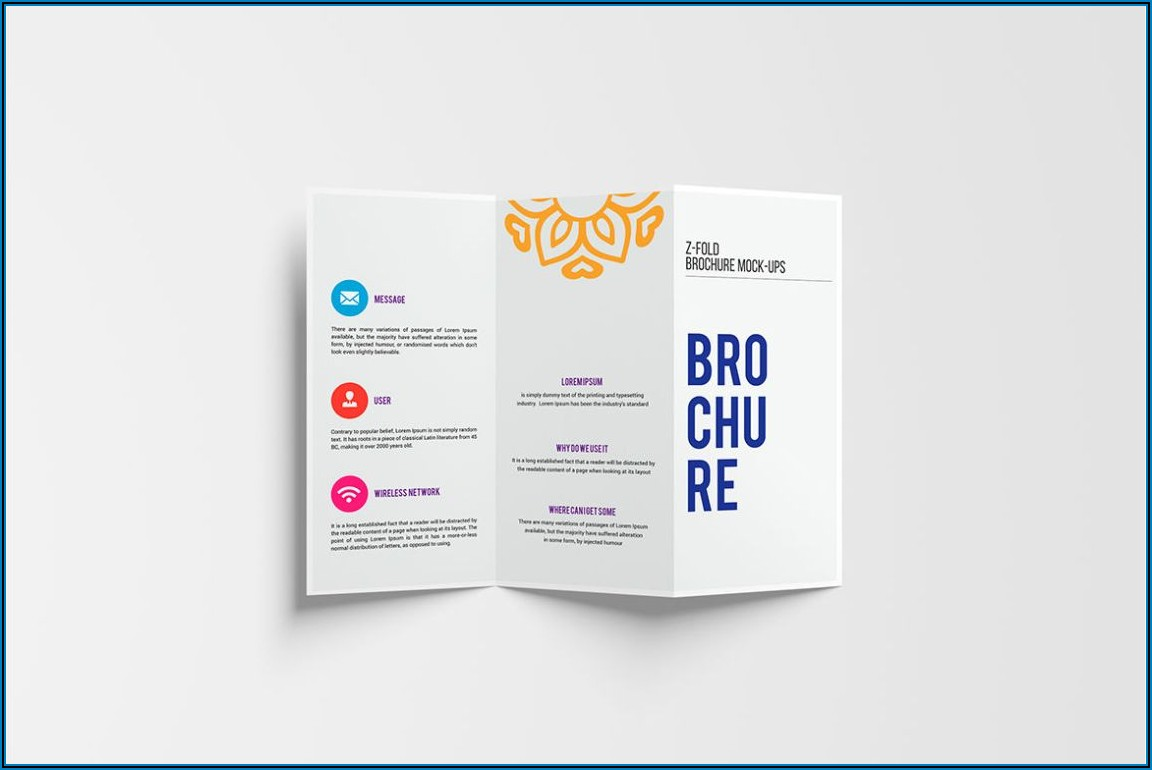 2 Fold Brochure Design Free Download