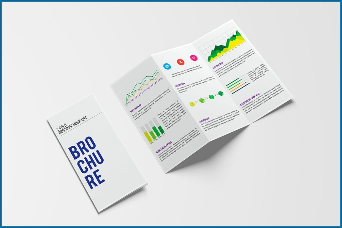 2 Fold Brochure Template Psd Free Download