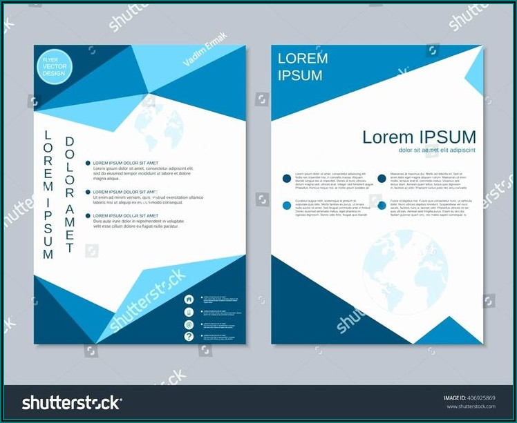 2 Sided Brochure Templates Free