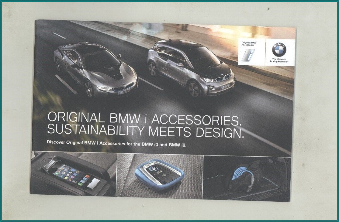 2015 Bmw I3 Brochure