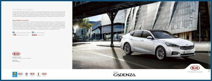 2016 Kia Cadenza Brochure