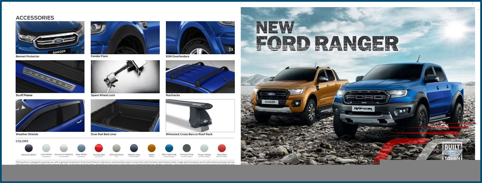 2019 Ford Raptor Brochure Pdf