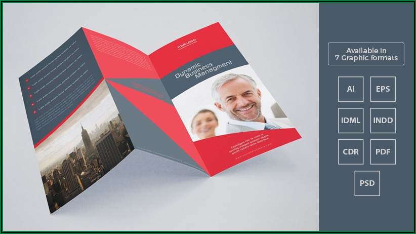 3 Fold Brochure Design Cdr