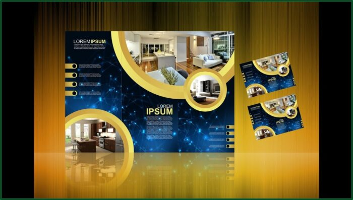 3 Fold Brochure Design In Coreldraw