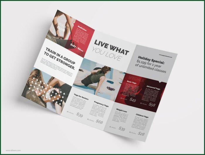 3 Fold Brochure Template Coreldraw