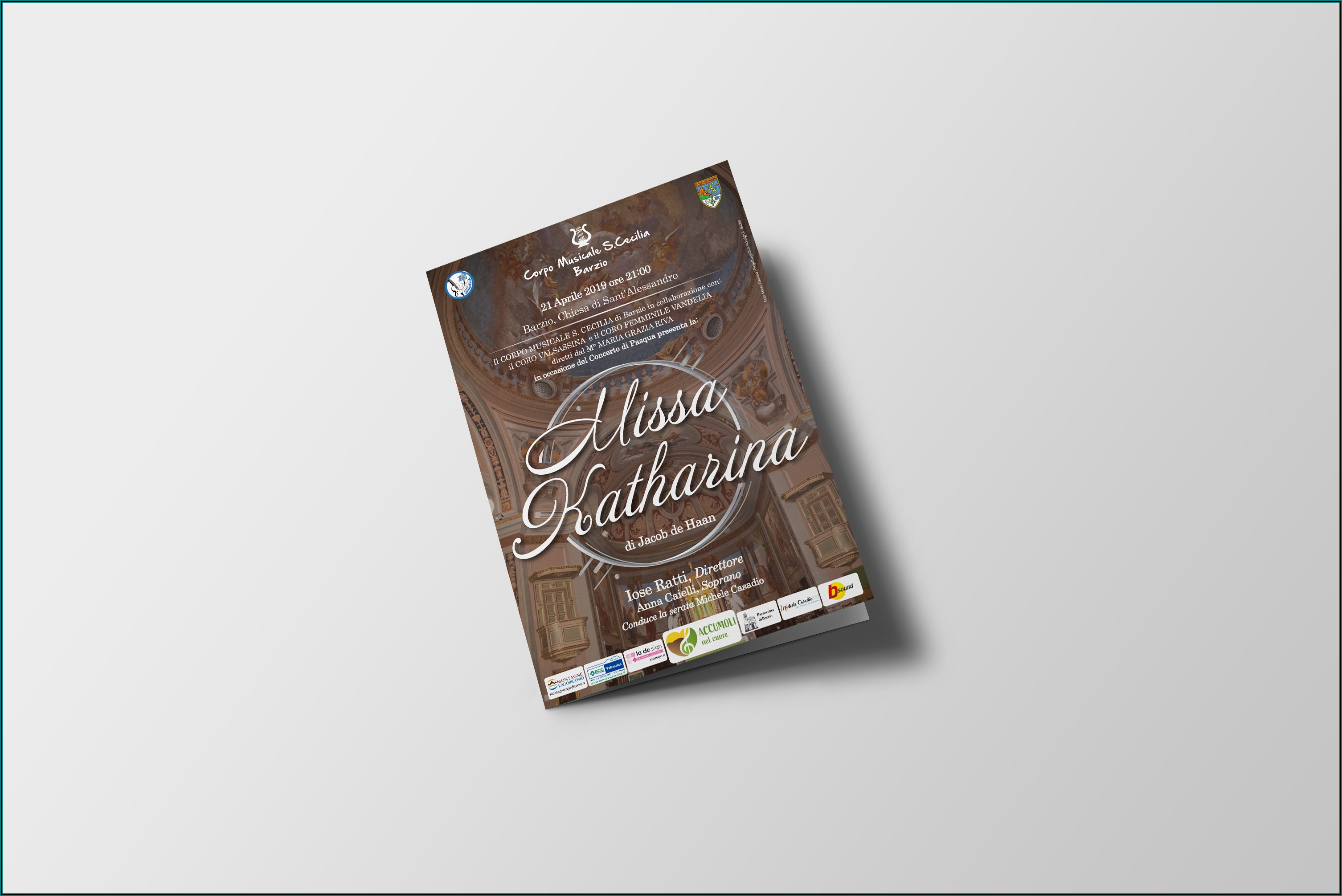 A3 Half Fold Brochure Mockup