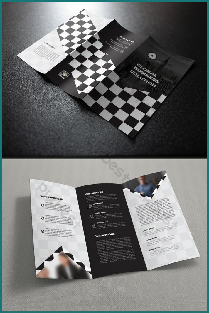 A4 Brochure Template Ai Free Download