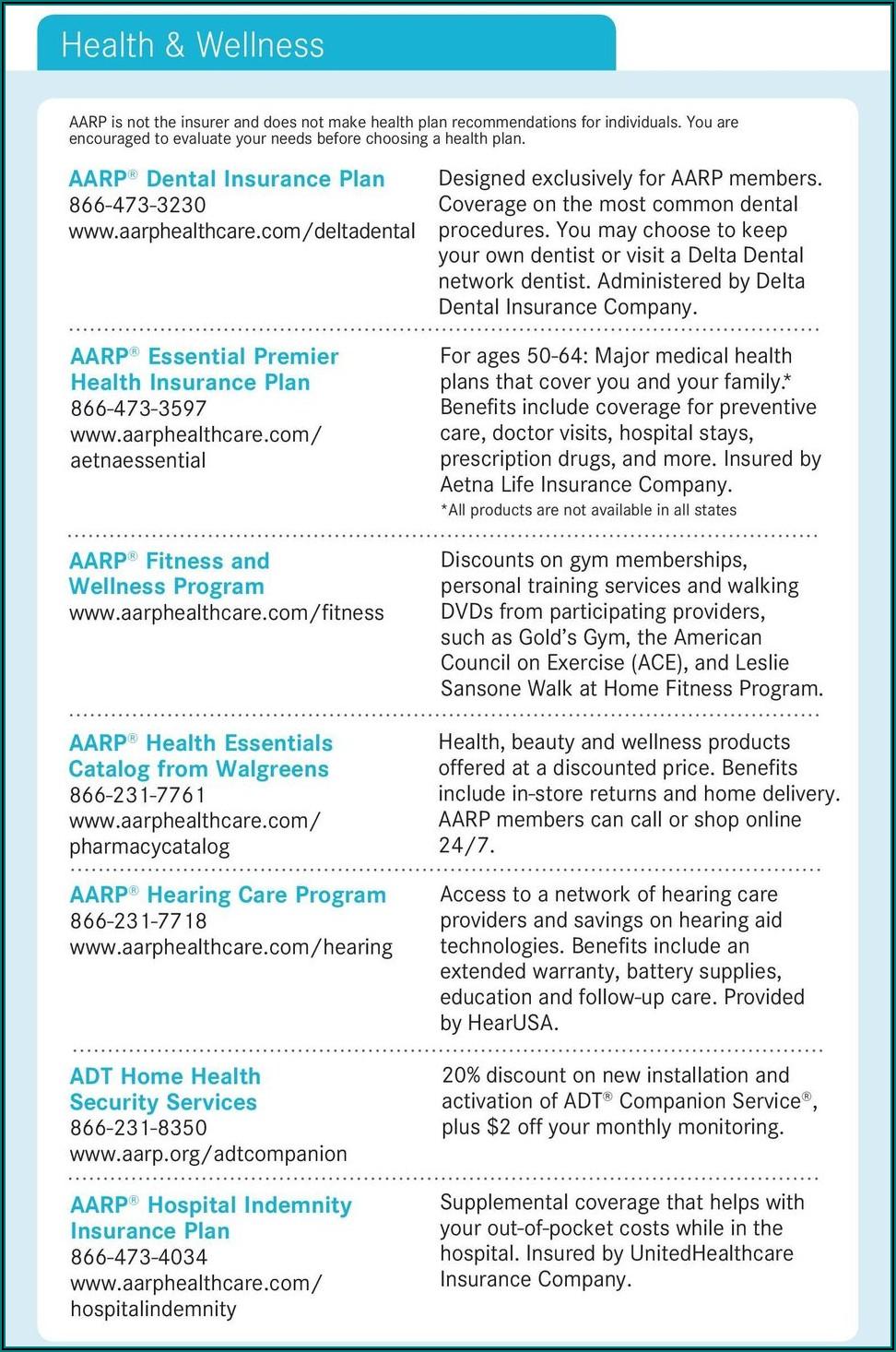 Aarp Delta Dental Plan Brochure