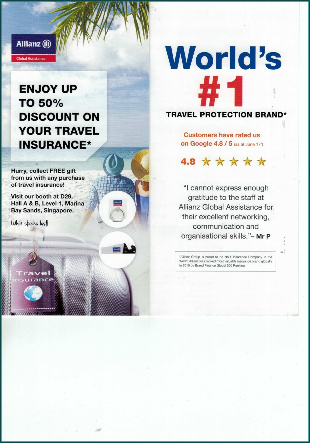 Allianz Travel Insurance Brochure Pdf