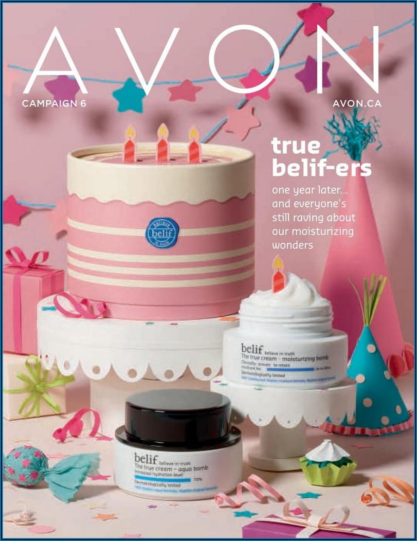 Avon Campaign 6 Brochure