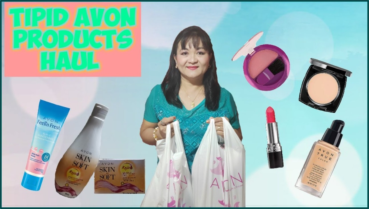 Avon Philippines Brochure August 2019
