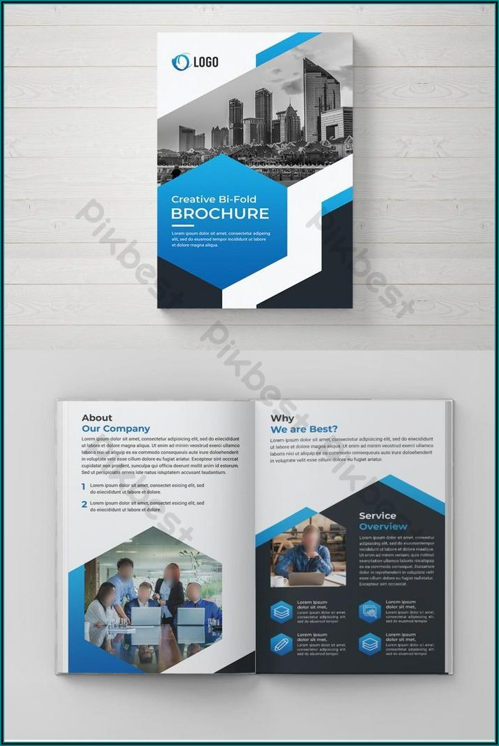 Bi Fold Brochure Design Free Download