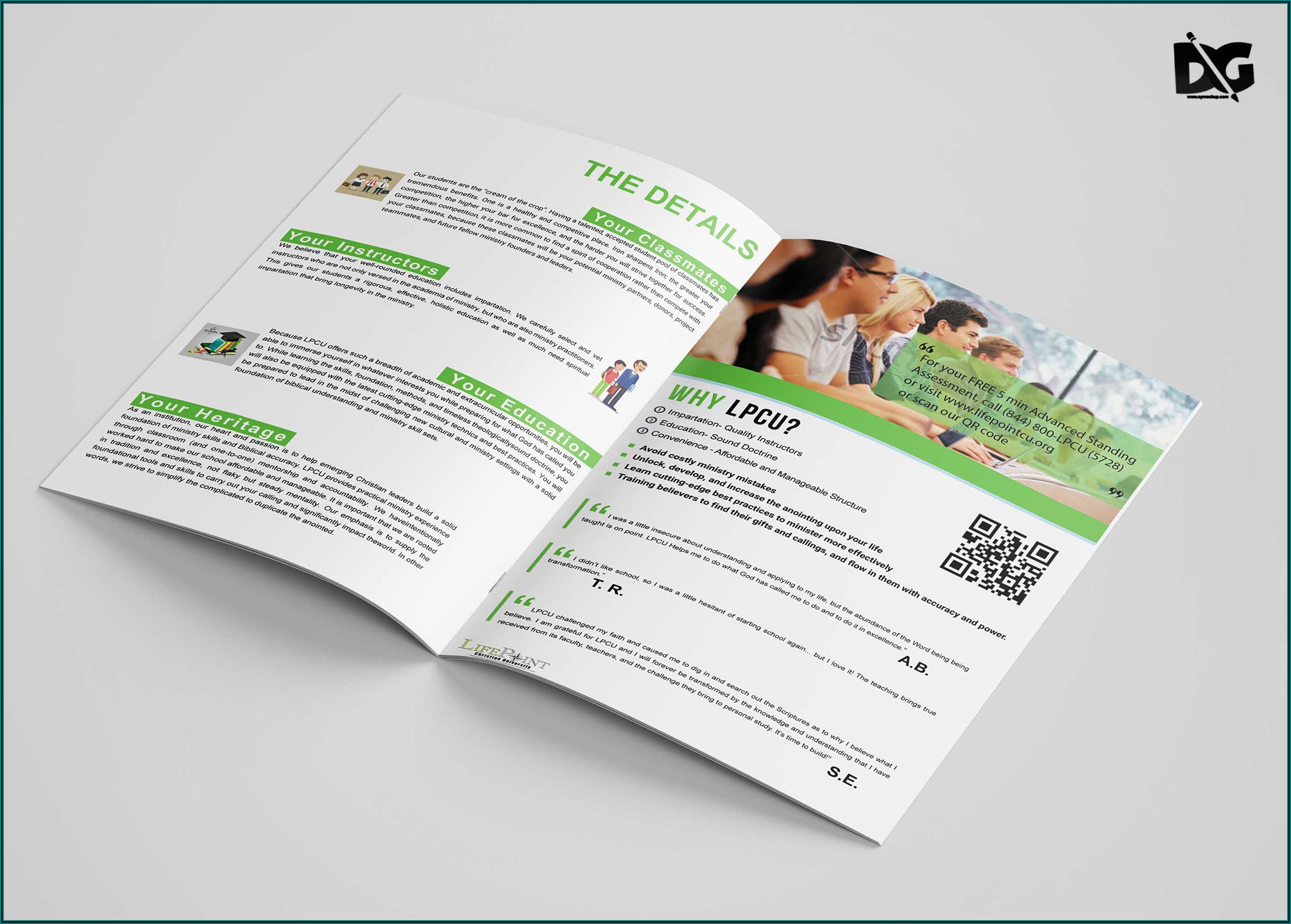 Bi Fold Brochure Template Free Download