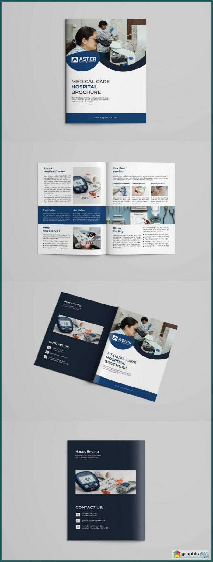 Bi Fold Brochure Template Photoshop Free